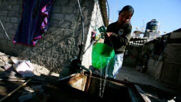 El uso del agua en México es un problema serio desde hace tiempo. El sistema de abasto del vital líquido no cubre las necesidades de una población tan grande en una región tan alta. Las sequías han empeorado la situación. (Brent Stirton/Getty Images)