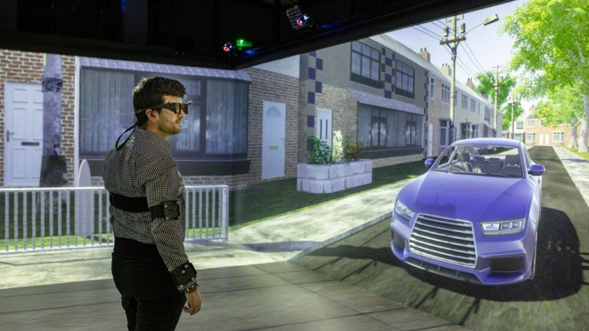 Real Brainy: VR Experts Are Teaching Self-Driving Cars How Pedestrians Think
