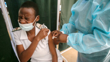 India's Covaxin Vaccine Administered In Harare