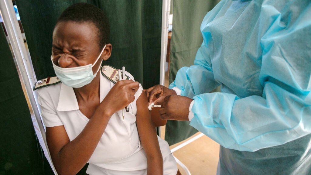 Zimbabwean Government Tussles With Trade Unions Over Vaccine Mandates