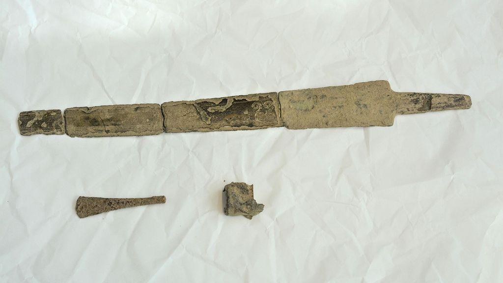 Blade Stunner: Rare Bronze Age Sword Unearthed In Suburban Backyard