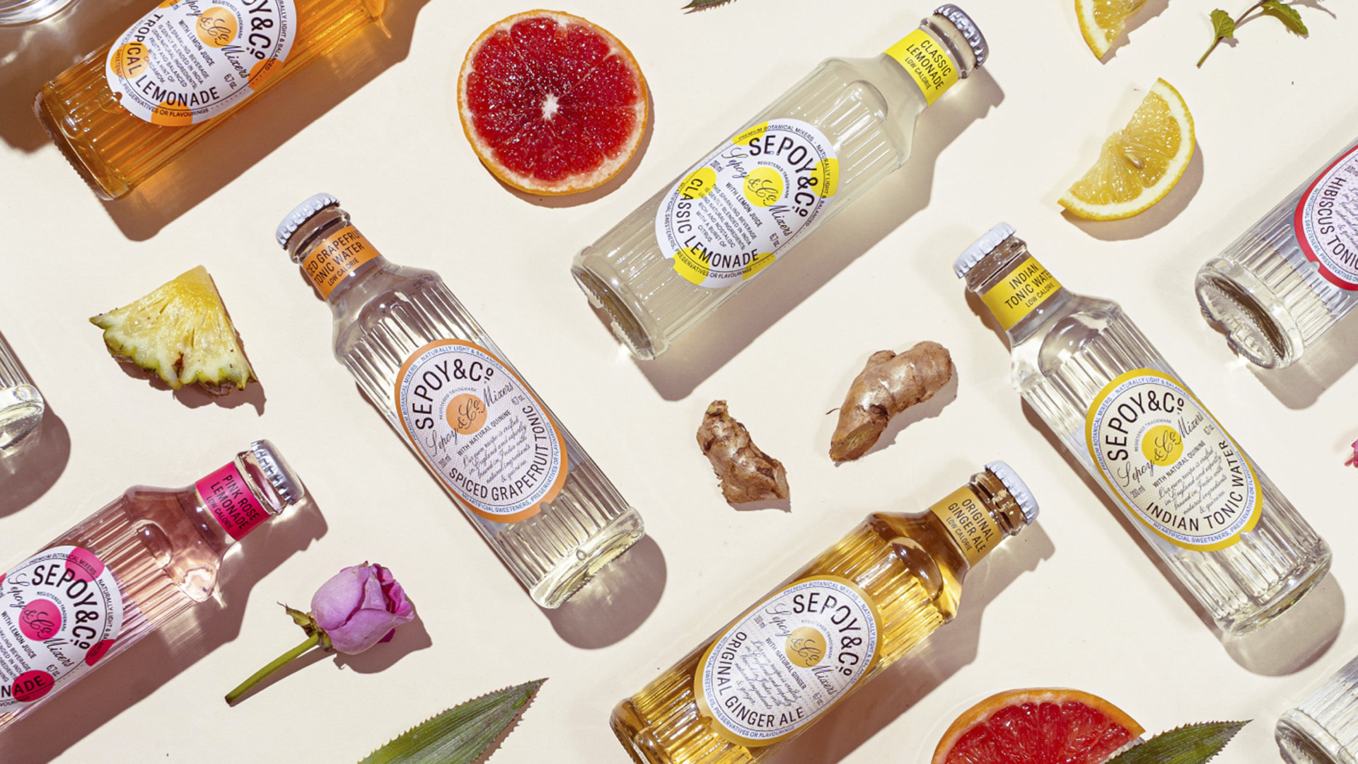 Exotic Zero-Proofs Spice Up Beverage Party