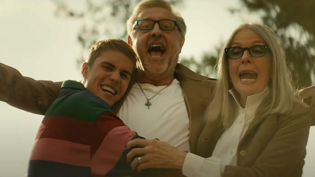 Diane Keaton Stars Alongside Justin Bieber In 'Ghost' Music Video