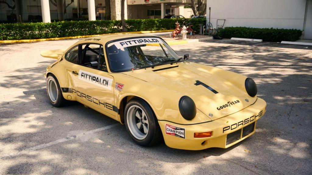 El clásico Porsche de carreras del narcotraficante Pablo Escobar fracasa en una subasta