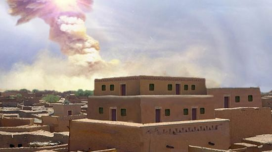 Gom In A Flash: Ancient City Destroyed By Meteorite Could Be Bible's Sodom, Say Scholars