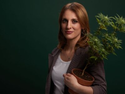 """""""Digital signing has boosted popular participation, but truth is, cannabis is a very sensitive issue for Italian citizens,"""" says Antonella Soldo, coordinator of pressure group Better Legal. (Courtesy of Antonella Soldo, Meglio Legale)"""