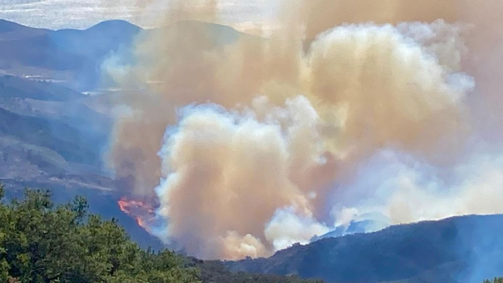 VIDEO: California Wildfire Threatens Reagan Ranch