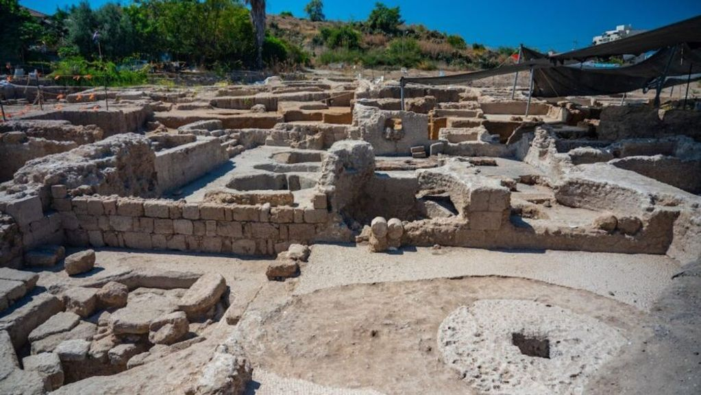 Largest Byzantine Winepress In The World Unearthed
