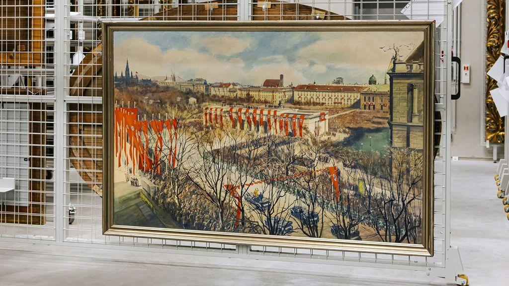 Nazi Political Propaganda Art On Exhibit For First Time In Austria