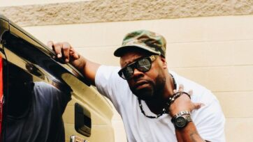 Big V, formerly of Nappy Roots, has embarked on his own musical career while continuing to take acting roles. (Kase)