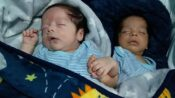 Twins With Different Skin Tone Born In Mexico