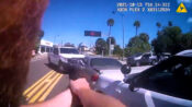 VIDEO: River Chance: Robber Rammed Two Police Cars And Tried To Swim To Freedom
