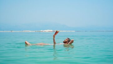 The Dead Sea has been losing more than some 40 inches of water per year since the 1970s, according to EcoPeace Middle East.Yet experts say the sea will not disappear. (Toa Heftiba/Unsplash)