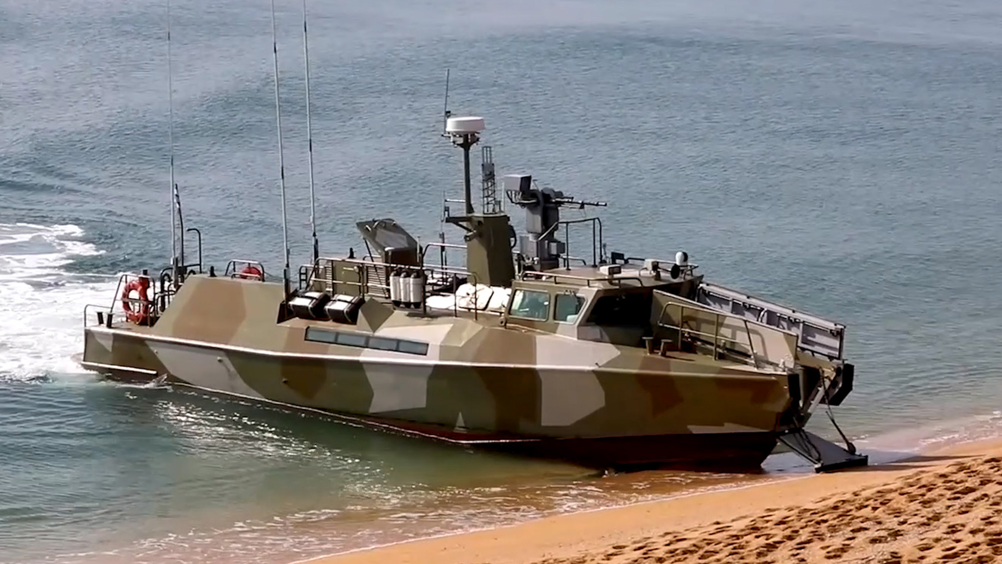 VIDEO: Russian Troops Rehearse D-Day Style Landing In Annexed Crimea