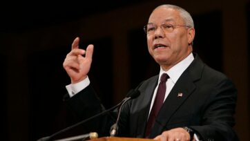 Former U.S. Secretary of State Colin Powell died at age 84 on Oct. 18. (Brendan Smialowski/Getty Images)