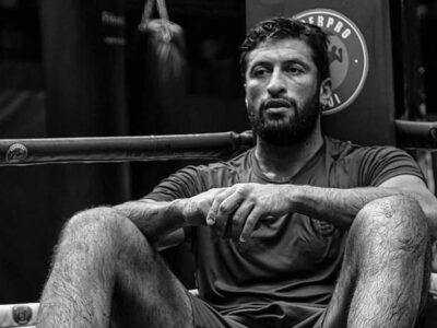 Focused after a hard day of training, Jamal Ben Saddik looks to settle the score against Rico Verhoeven on Saturday night. (Courtesy of Jamal Ben Saddik)