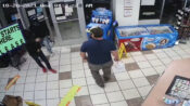 VIDEO: Marine Veteran Quickly Disarms Robber At Gas Station